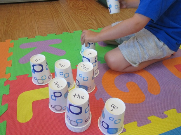 Sight Word Tower (3)