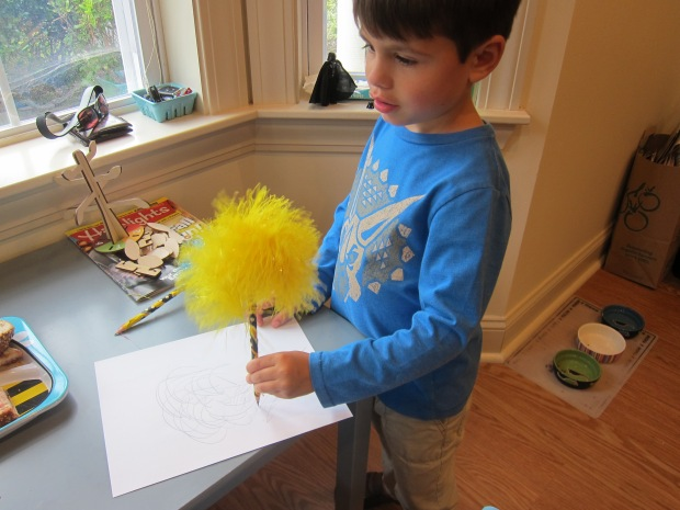 Fluffy Pencils (6)