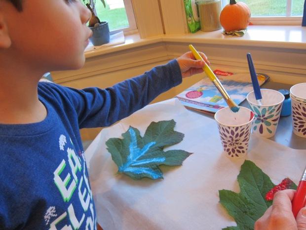Leaf Craft Challenge (2)