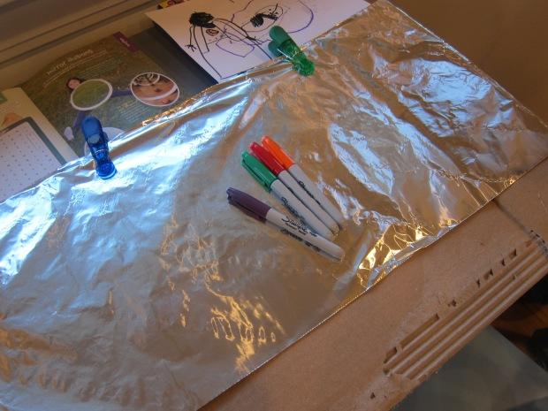 Aluminum Foil Painting (1)