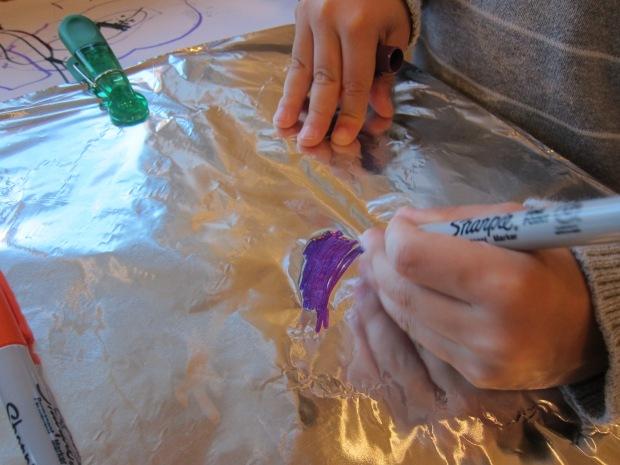Aluminum Foil Painting (2)