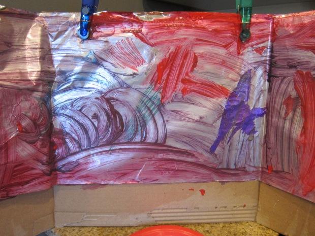 Aluminum Foil Painting (7)