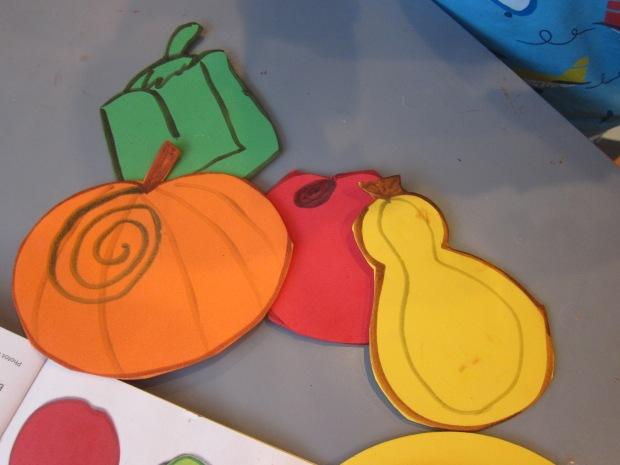 Harvest Coasters (4)