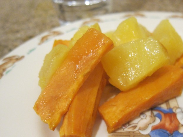 Hawaiian Sweet Potatoes