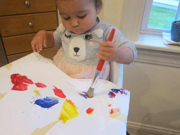 High Chair Painting (2)