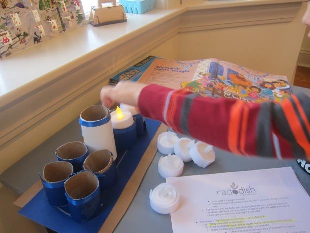 Shining Menorrah Hanukkah (3)
