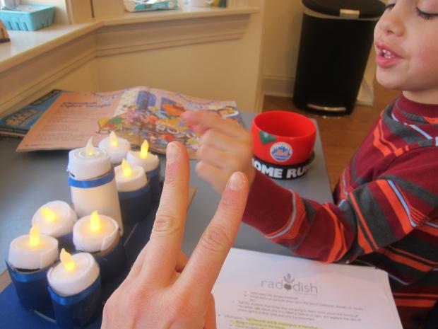 Shining Menorrah Hanukkah (5)