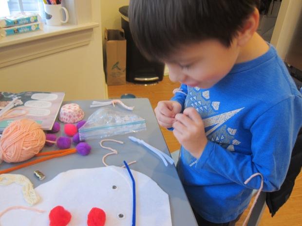 Snowman Craft Challenge (5)