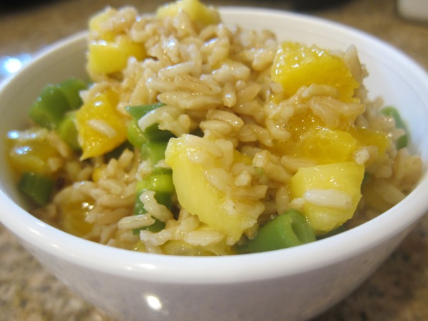 Citrusy Rice Salad