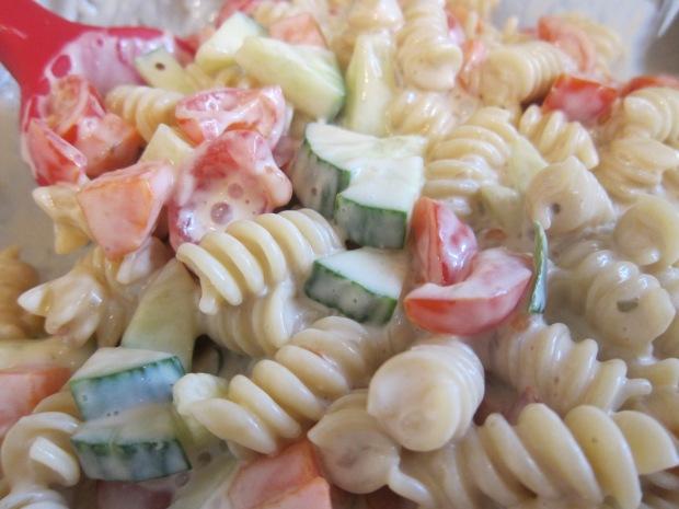 Creamy Pasta Salad a