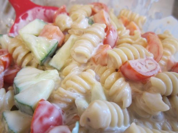 Creamy Pasta Salad b