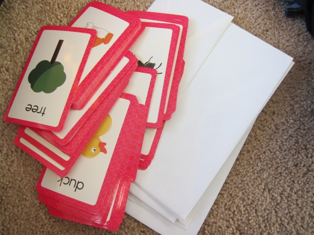 Flashcard Envelopes (1)