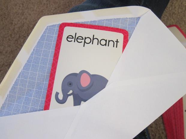 Flashcard Envelopes (2)