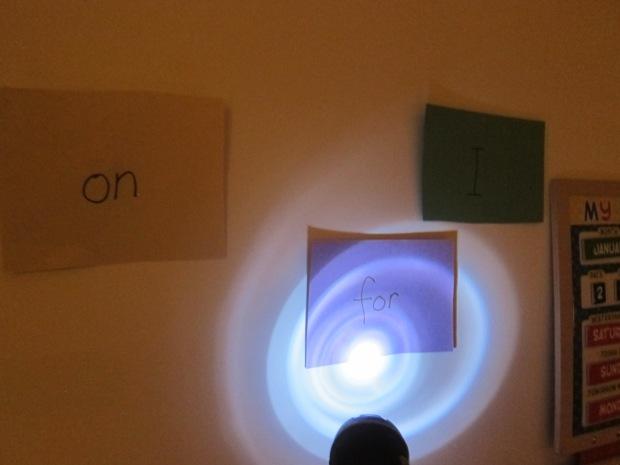 Flashlight Word (6)