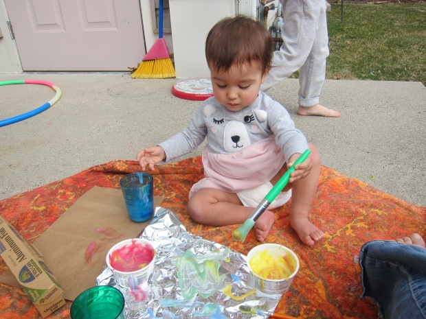 Baby Foil Painting (6)