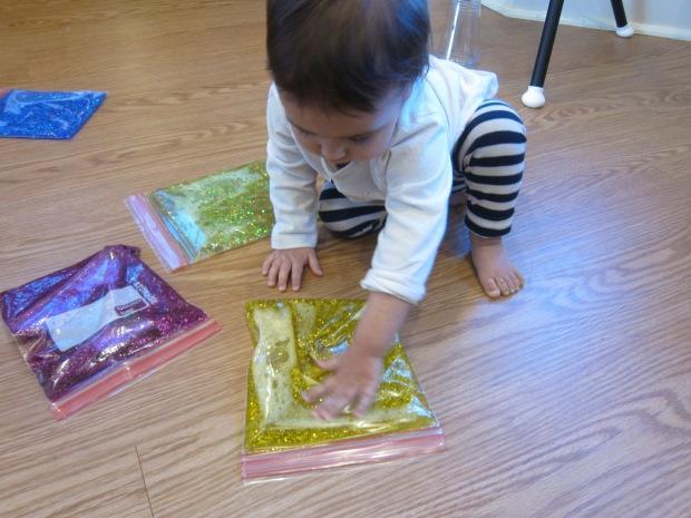 Glitter Blob Bag (12)