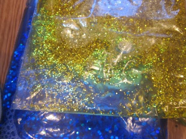 Glitter Blob Bag (4)