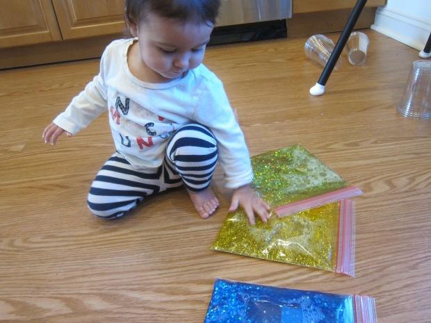 Glitter Blob Bag (5)