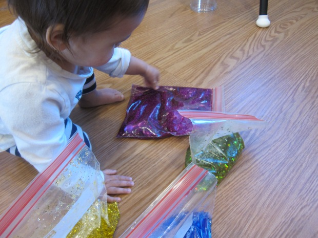 Glitter Blob Bag (7)