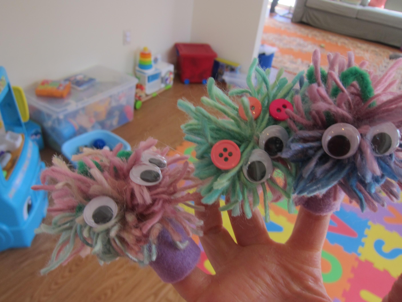 Pompom Puppets (6)