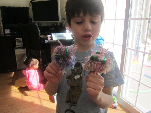 Pompom Puppets (7)