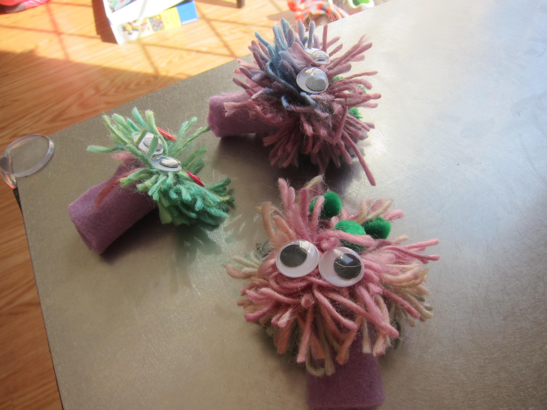 Pompom Puppets (8)
