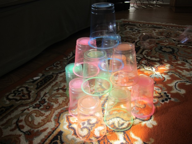 Colored Stacking Cups (12)