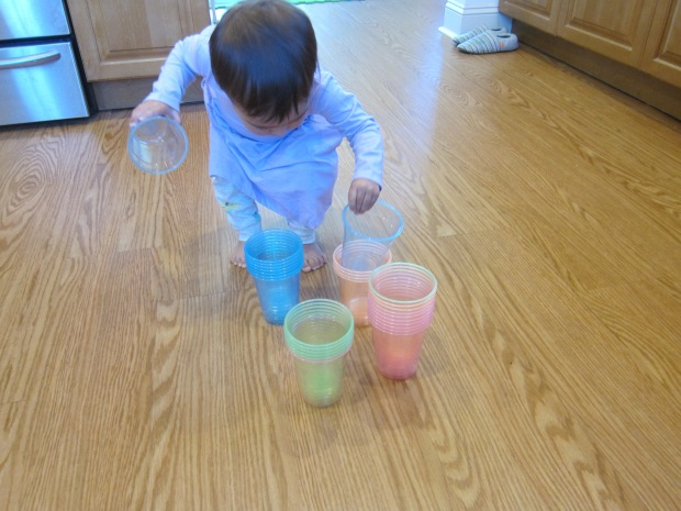 Colored Stacking Cups (5)