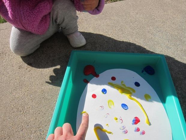 Finger Paint Easter Egg (3)