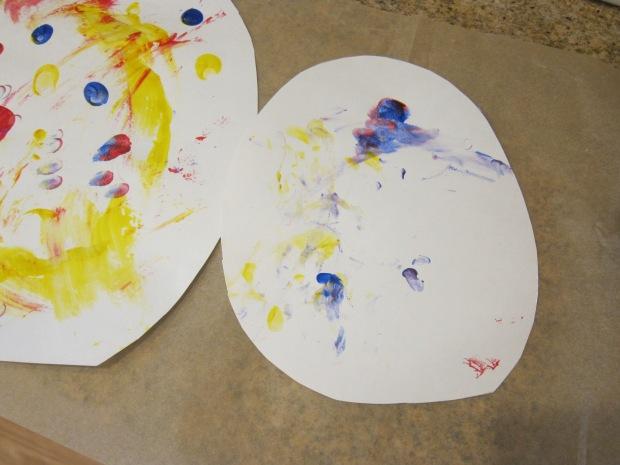 Finger Paint Easter Egg (6)