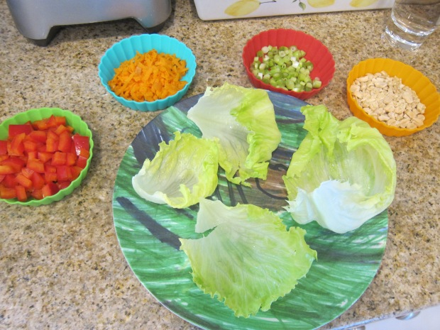 Chicken Lettuce Wraps (3)