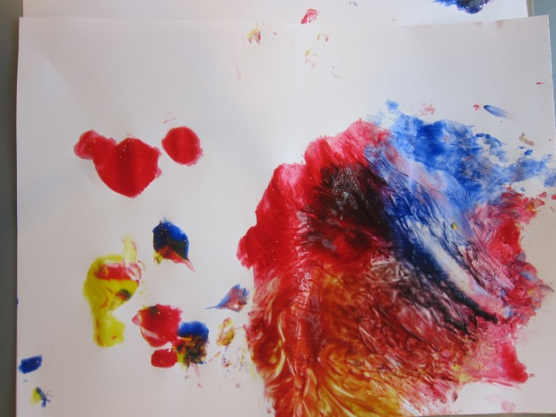 Cling Wrap Painting (8)