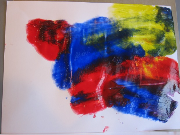 Cling Wrap Painting (9)