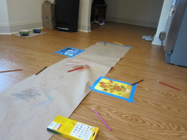 Drawing on the Floor (10)