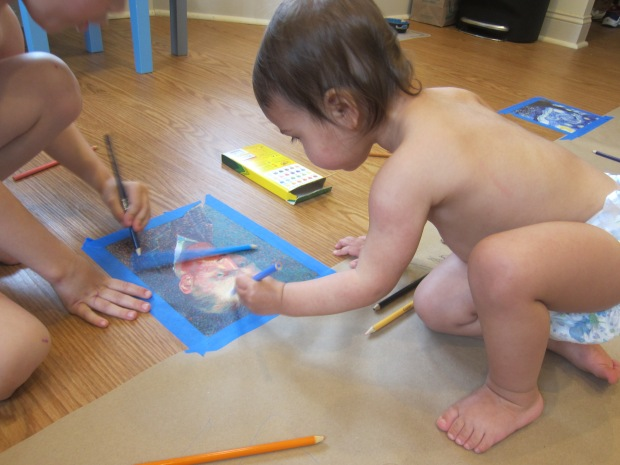 Drawing on the Floor (5)