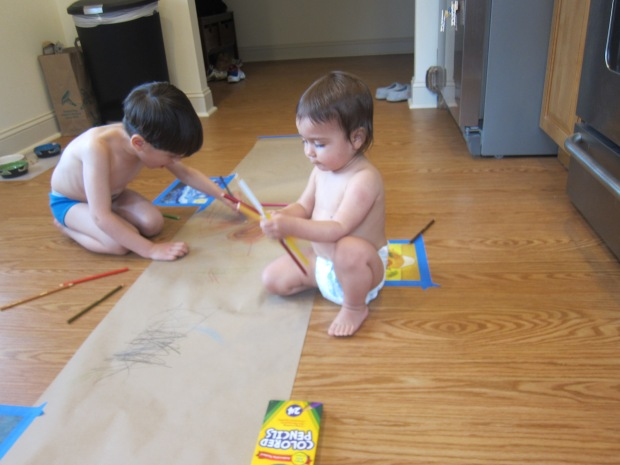 Drawing on the Floor (6)