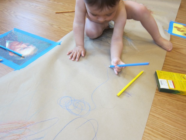 Drawing on the Floor (7)