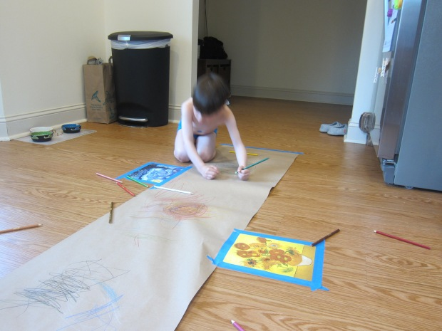 Drawing on the Floor (9)