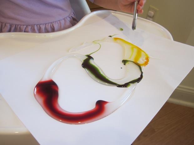 Food Color Fingerpaint (2)