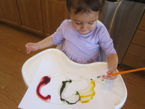 Food Color Fingerpaint (3)