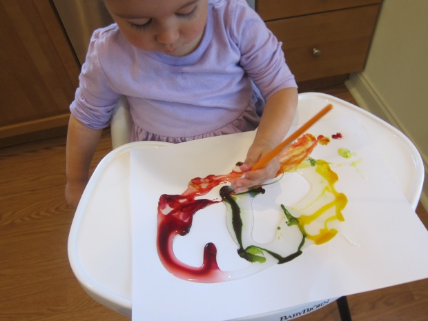 Food Color Fingerpaint (4)