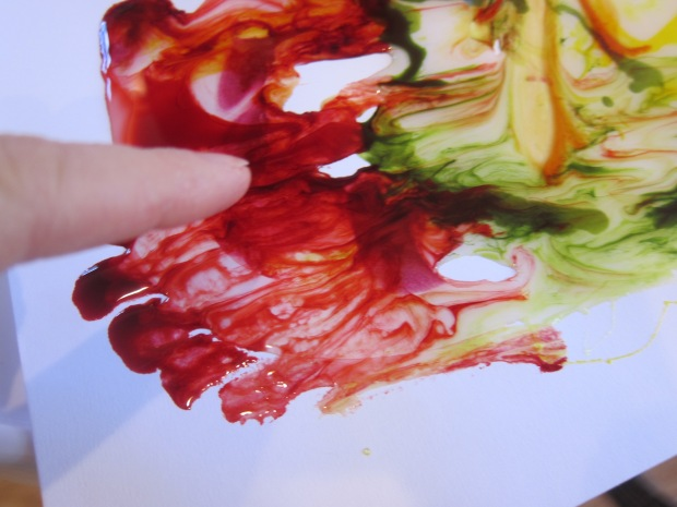 Food Color Fingerpaint (6)