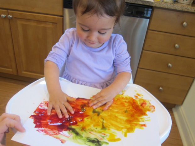 Food Color Fingerpaint (8)