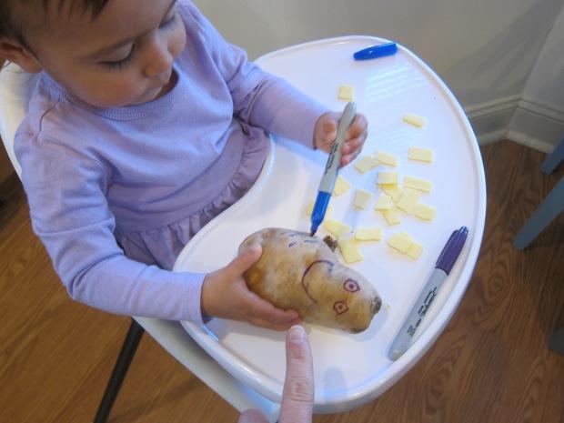 Homemade Potato Man (1)