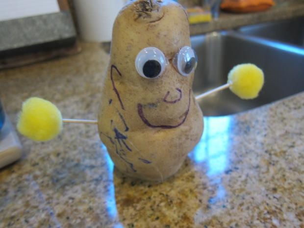 Homemade Potato Man (2)