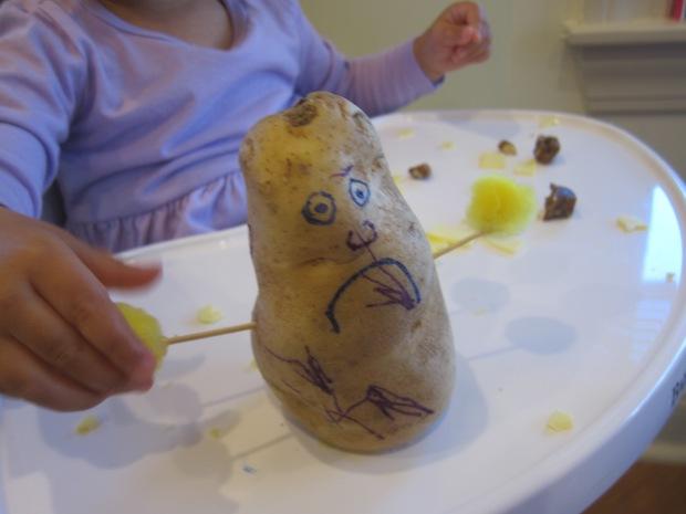 Homemade Potato Man (3)