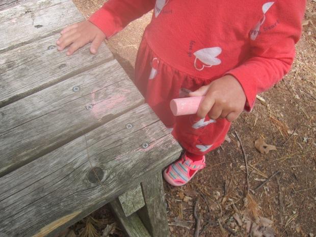 Sidewalk Chalk Marking (4)