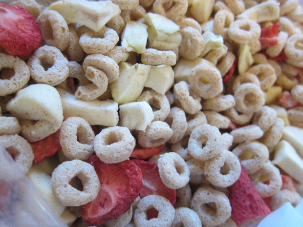 Take Along Cereal Snack