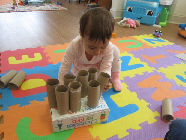 Toilet Paper Tube Towers (10)