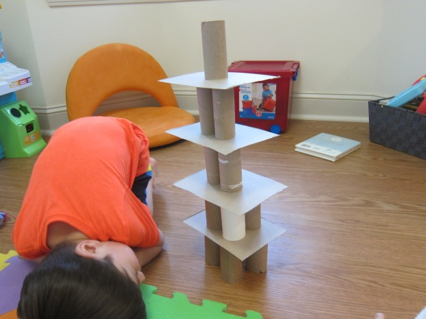 Toilet Paper Tube Towers (14)